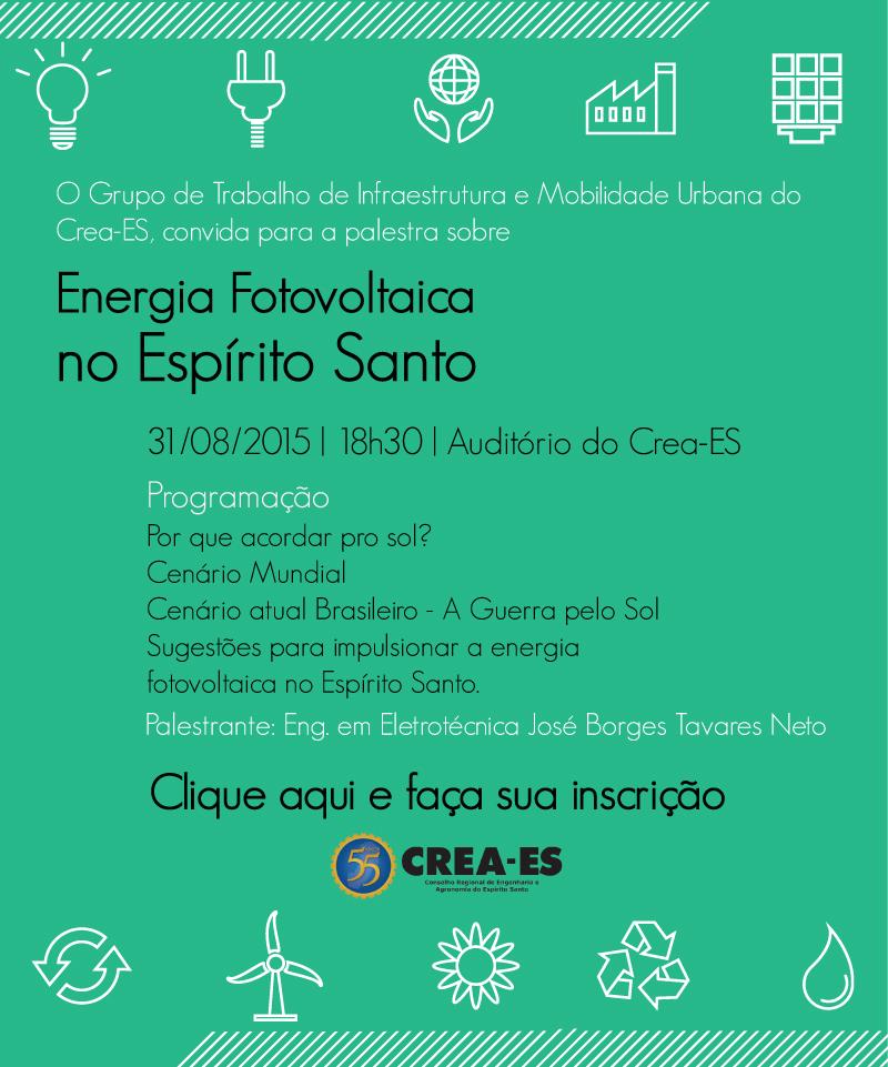 Convite GT Energia Fotovoltaica