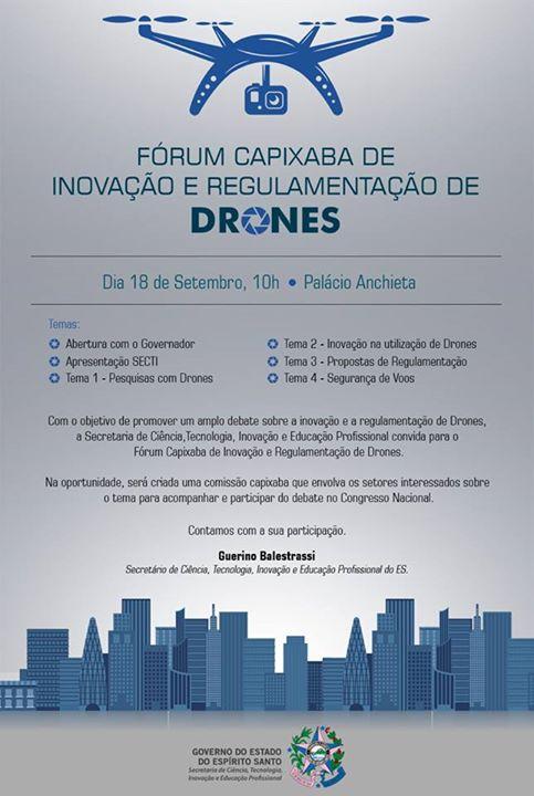 Fórum Capixaba de Drones